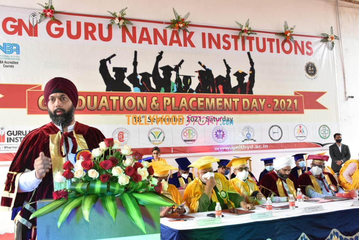 Graduation Day Placements Day Celebrations at Gurunanak Institutions 7
